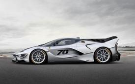 """Ferrari vén màn phiên bản nâng cấp của """"mãnh thú"""" FXX K"""