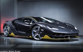 Siêu phẩm Lamborghini Centenario đầu tiên cập bến châu Á