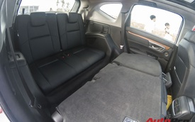 Đánh giá hàng ghế thứ 3 trên Honda CR-V 7 chỗ tại Việt Nam