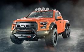 """Hennessey VelociRaptor 6x6 - Phiên bản 6 bánh của xe bán tải """"khủng long"""" Ford F-150 Raptor"""