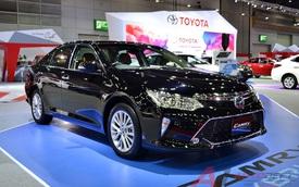Toyota Camry 2017 được vén màn tại Đông Nam Á với trang bị tốt hơn