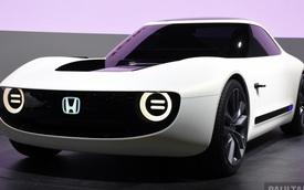 Honda Sports EV Concept - Sự kết hợp giữa kiểu dáng cổ điển và công nghệ hiện đại