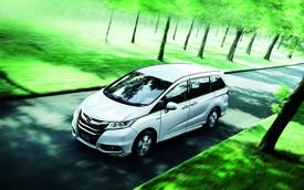 Honda Odyssey 2017 nâng cấp nhẹ, giá không đổi