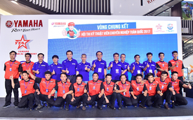 Thợ máy xuất sắc nhất của Yamaha đại diện Việt Nam tranh tài tại Nhật Bản