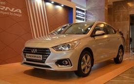 """""""Phát thèm"""" với xe chưa đến 300 triệu Đồng Hyundai Verna 2017 vừa ra mắt Ấn Độ"""