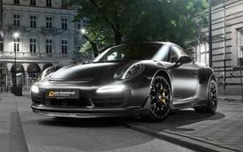 """Làm quen với """"chàng Hiệp sĩ bóng đêm"""" Porsche 911 Turbo S 2016 độ 700 mã lực"""