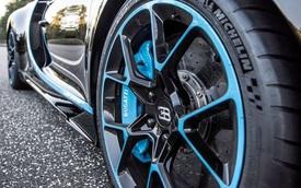 Tin vui cho các đại gia: Lốp của siêu xe Bugatti Chiron sẽ không có giá 42.000 USD/bộ như Veyron