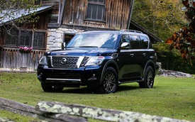 SUV 8 chỗ Nissan Armada 2018 có thêm bản cao cấp nhất với giá hơn 60.000 USD