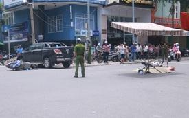 Đà Nẵng: Nữ tài xế lái xe bán tải Mazda BT-50 gây tai nạn liên hoàn, 3 người thương vong