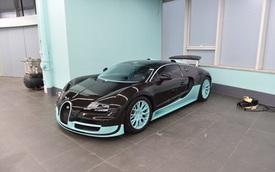 Đây là chiếc siêu xe Bugatti Veyron có một không hai chưa từng lăn bánh