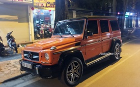 """Cận cảnh """"ông vua việt dã"""" Mercedes-Benz G63 AMG trong bộ cánh màu Sunset Beam bằng decal"""