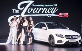 Dàn chân dài miên man tại Mercedes-Benz Fascination 2017