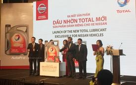 Nissan có dầu động cơ được Total nghiên cứu riêng