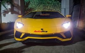 Lamborghini Aventador S độc nhất Việt Nam lăn bánh trên phố Sài thành
