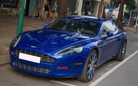 """""""Hàng hiếm"""" Aston Martin Rapide đổi màu tại Hà Nội"""