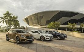 Xe hiệu năng cao Mercedes-AMG GLA 45 4MATIC chào sân VIMS 2017, giá bán 2,339 tỷ Đồng