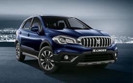 """Crossover """"giá bèo"""" và tiết kiệm nhiên liệu Suzuki S-Cross 2017 được vén màn"""