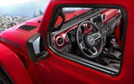 Lộ nội thất của xe việt dã Jeep Wrangler 2018