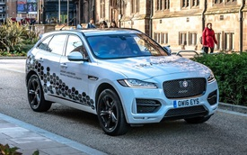 Xe Jaguar và Land Rover đã có thể tự lái trên phố