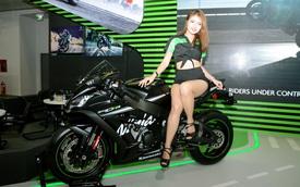 Chiêm ngưỡng vẻ đẹp sexy của siêu mô tô bản giới hạn Kawasaki Ninja ZX-10RR 2017