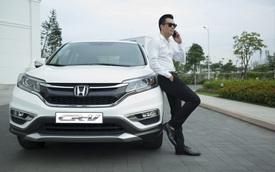 """""""Tháng cô hồn"""", mua Honda CR-V được tặng Honda SH125i ABS"""