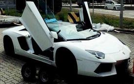 Rộ tin đồn siêu xe Lamborghini Aventador mui trần thứ 3 đã cập bến Việt Nam