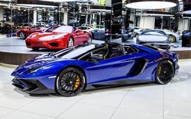 Vẻ đẹp lộng lẫy của Lamborghini Aventador SV mui trần rao bán 13 tỷ Đồng