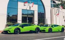 Lamborghini Huracan Performante mạnh 640 mã lực khoe dáng tại thiên đường siêu xe
