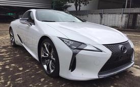 """Lexus LC 500h 2018 đầu tiên cập bến Lào, đại gia Việt """"phát hờn"""""""