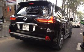 """Bắt gặp """"chuyên cơ mặt đất"""" Lexus LX570 2016 biển """"ngũ quý 7"""" tại Sài Gòn"""