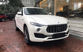 Maserati Levante S đầu tiên cập bến Việt Nam