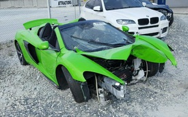 """""""Mất đầu"""", siêu xe McLaren 650S Spider vẫn được rao bán mức giá 2,5 tỷ Đồng"""