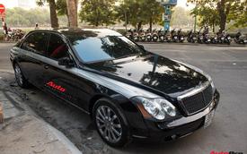 Xe siêu sang Maybach 62 trong lô xe nhập lậu năm 2013 tái xuất tại Hà Nội