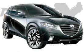 Hết Honda CR-V đến Mazda CX-5 2017 được đồn có phiên bản 7 chỗ
