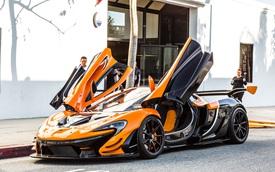 """Đây là chiếc McLaren P1 GTR hiếm hoi """"hợp pháp"""" lưu thông trên phố"""