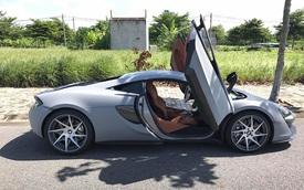 """McLaren 570S từng thuộc sở hữu của Cường """"Đô-la"""" tiếp tục được độ """"khủng"""""""