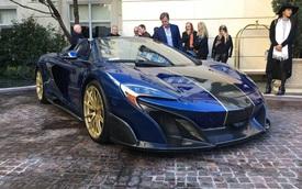 """McLaren 675LT Spider Carbon Series mạ vàng có giá """"khóc thét"""" 18,5 tỷ Đồng"""