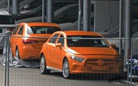 Mercedes-Benz A-Class 2019 lộ diện bản sedan hoàn toàn mới