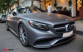 """Mercedes-AMG S63 Coupe độc nhất Việt Nam thay """"áo"""" mới"""
