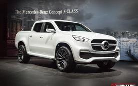 Cận cảnh xe bán tải hạng sang Mercedes-Benz X-Class ngoài đời thực