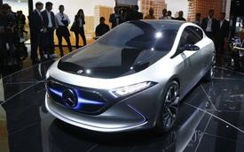 Mercedes-Benz Concept EQ A - Ô tô điện đầy phong cách