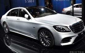 Choáng với phiên bản chỉ tiêu thụ 2,1 lít xăng/100 km của xe cỡ lớn Mercedes-Benz S-Class 2018