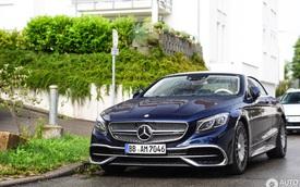 Chiêm ngưỡng vẻ đẹp của xe siêu sang Mercedes-Maybach S650 Cabriolet trên đường phố