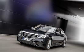 Chi tiết cặp xe sang thể thao Mercedes-AMG S63 và S65 2018