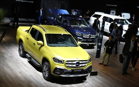 """Mercedes-Benz """"mở bán"""" SUV hạng sang X-Class tại triển lãm Frankfurt 2017"""