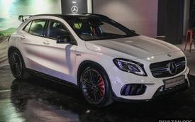 Chi tiết crossover hạng sang Mercedes-AMG GLA45 4Matic 2018 tại Đông Nam Á