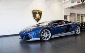 Hàng hiếm Lamborghini Aventador Miura Hommage được rao bán 11, 4 tỷ Đồng