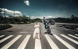 Mãn nhãn với bộ ảnh cưới cực chất của cặp đôi Stunter Việt