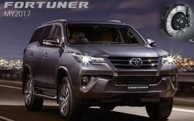 Hé lộ những trang bị mới của Toyota Fortuner 2017 tại Thái Lan