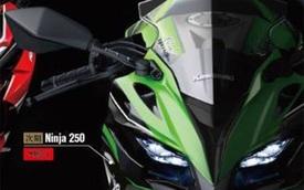 Rộ tin đồn Kawasaki phát triển Ninja 250 với động cơ 4 xy-lanh